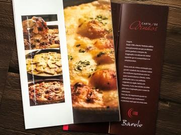 Restaurante Barolo - Cardápio