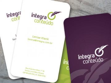 Integra Conteúdo - Cartões