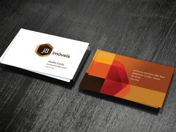 J8 Imóveis - Cartão de Visitas