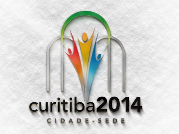 Copa 2014 - Logo Curitiba Cidade Sede